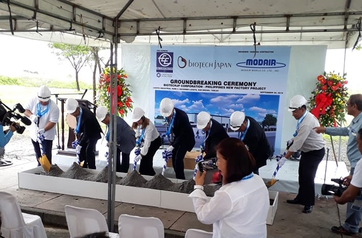 BiotechJP Corp held its Groundbreaking Ceremony for the New Tarlac Factory